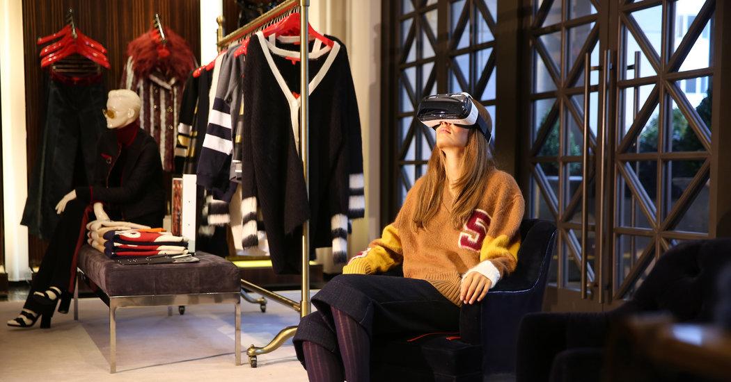 Experiencia virtual en tienda de ropa