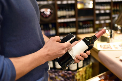 Preisvergleich mit Smartphone im Supermarkt